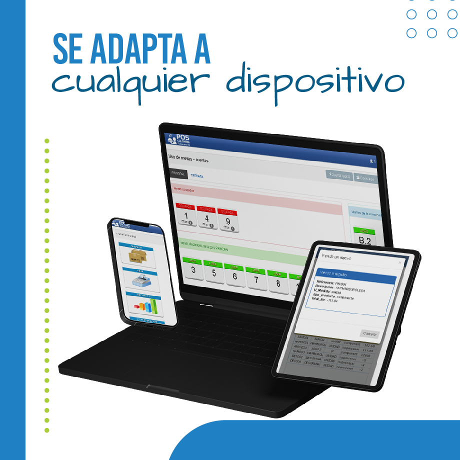Software POS Restaurante Compatible con Tablets