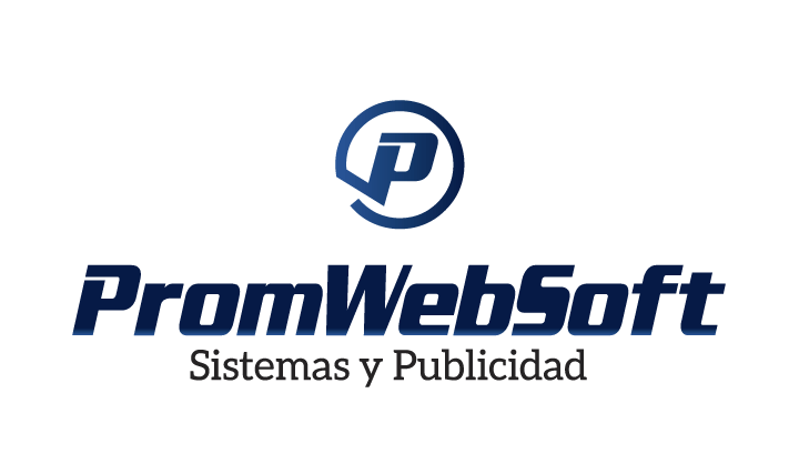 promwebsoft logo vertical slogan